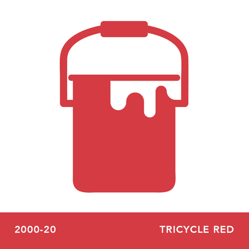 2000-20 Tricycle Red - Envy Paint and Design