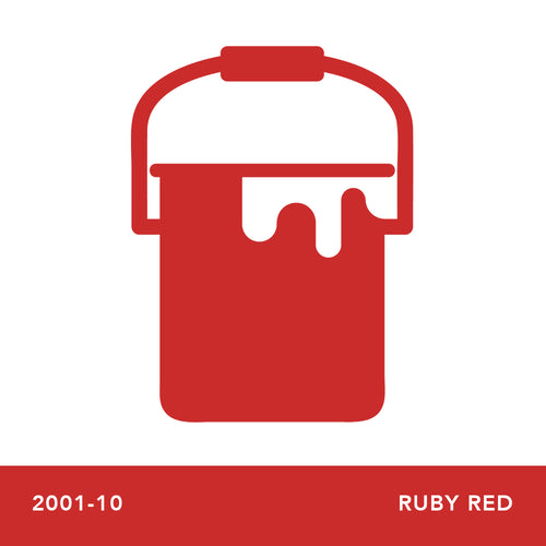 2001-10 Ruby Red - Envy Paint and Design