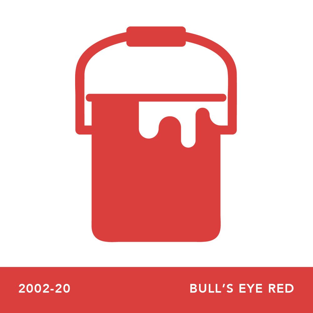 2002-20 Bull's Eye Red - Envy Paint and Design