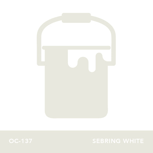 OC-137 Sebring White - Envy Paint and Design