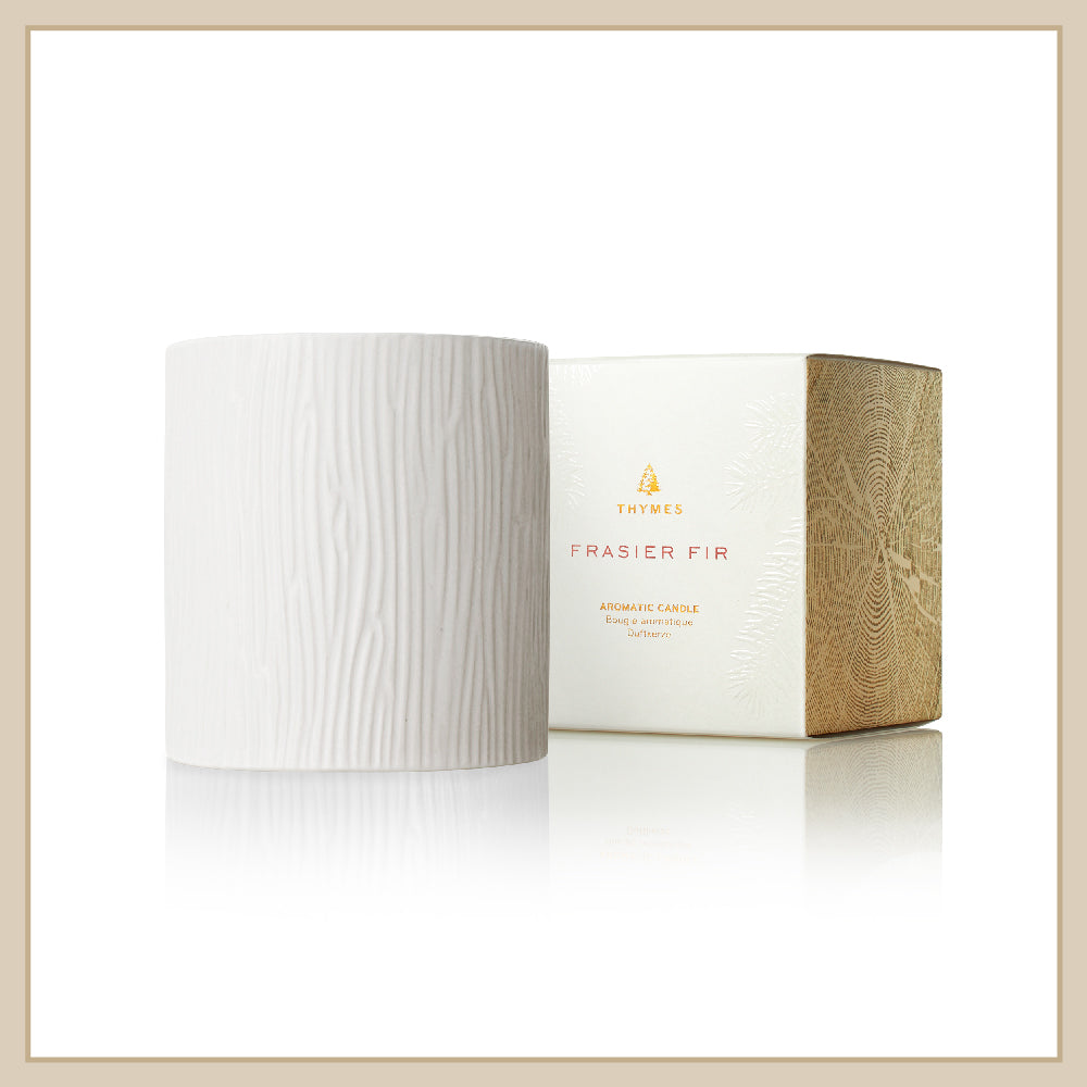 Thymes Frasier Fir Ceramic Medium Candle - Envy Paint and Design