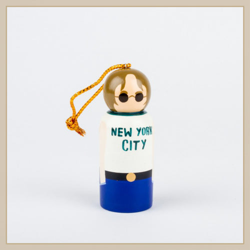 John Lennon Peg Ornament - Envy Paint and Design
