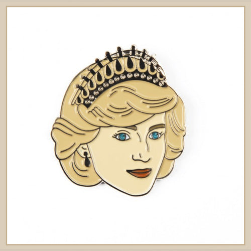 Princess Diana Enamel Pin - Envy Paint and Design