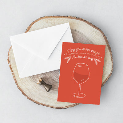 Drinks Greeting Card