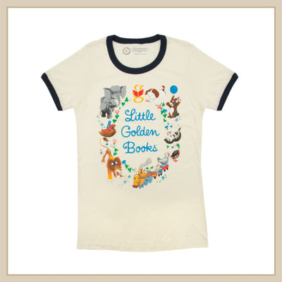 Little Golden Books T-Shirt - Envy Paint and Design