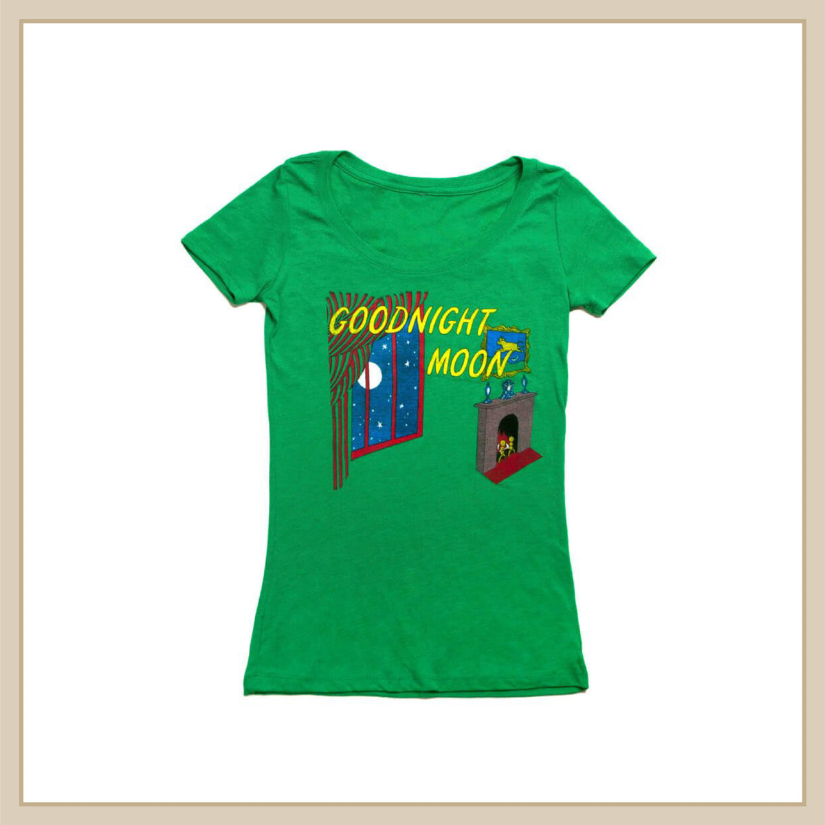 Goodnight Moon T-Shirt - Envy Paint and Design