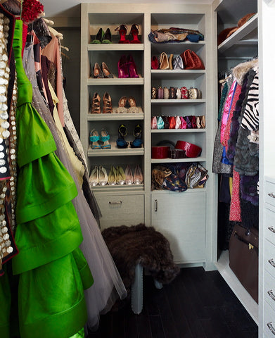 clos-ette's show house dream closet