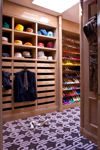 hat storage and shoe racks