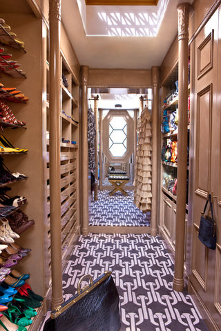 Kelly WEarstler's dream closet