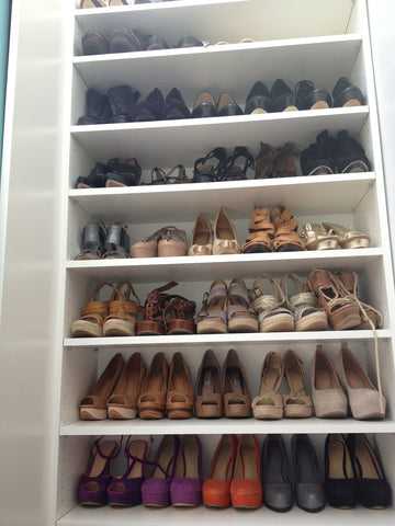 shoe storage/shoe racks