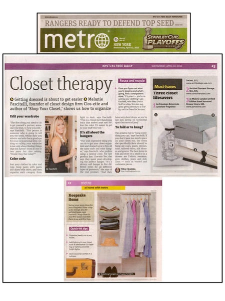 closet organizer tips in metro news