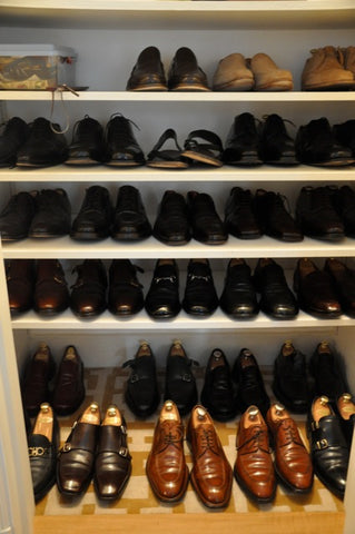 shoe shelves, shoe storage, shoe trees