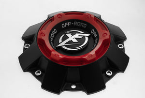 XF CAP Short MB + Red ring