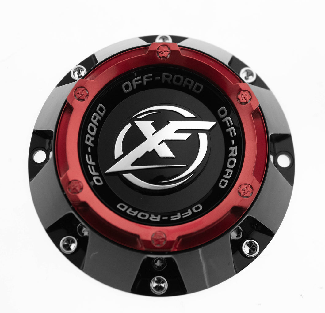 XF CAP Small GB + Anodized Red ring