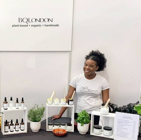 BQLondon founder at Vegan Life Live in March 2019