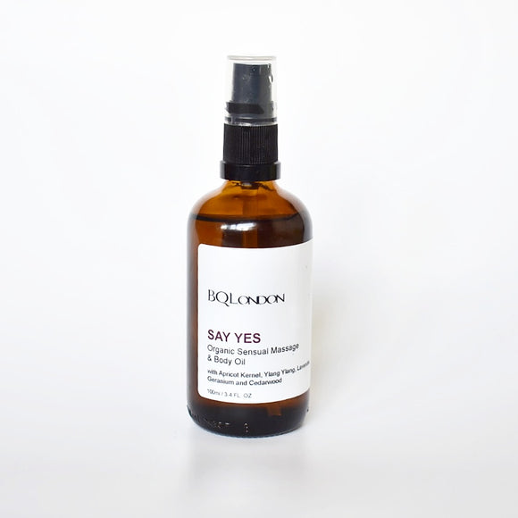 Say Yes Massage and Body Oil