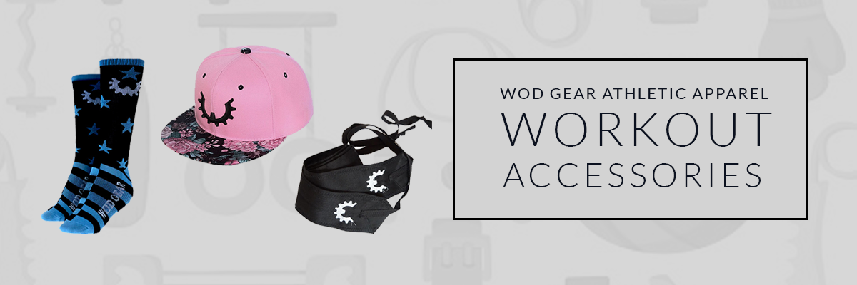 workout Accessories hats socks and gears
