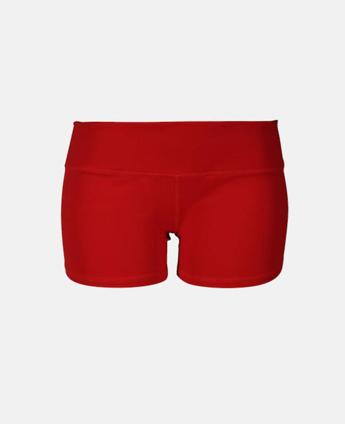 Booty Short - Glorious Red