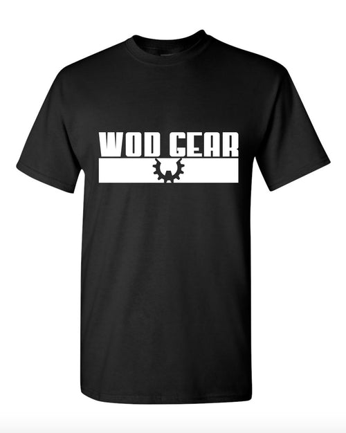 WOD Gear Tee Black