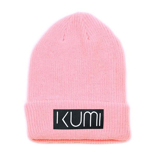Kumi Ultra Soft Woven Knit Cuffed Beanie (Pink)