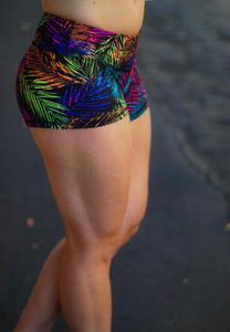Tropic Color Bootyshorts