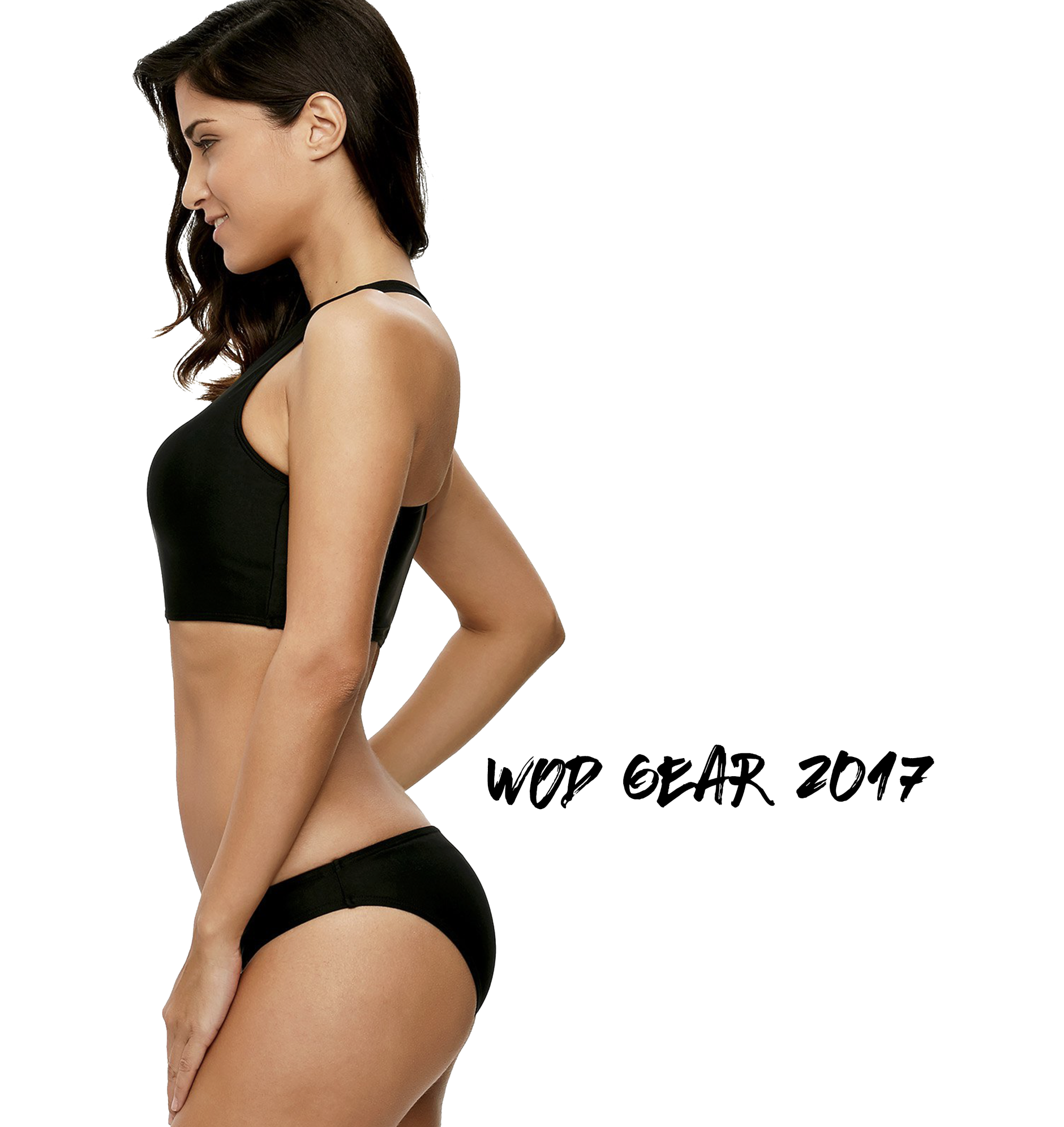 Wod Gear High Neck Racerback Bikini