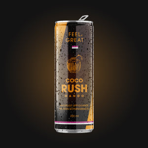 12 pack Feel Great RUSH Mango