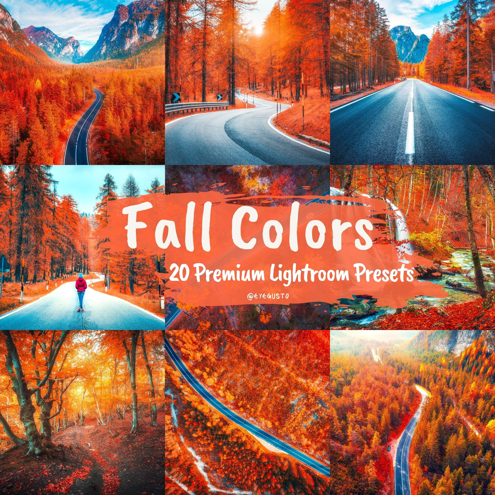 Fall Lightroom Presets Pack
