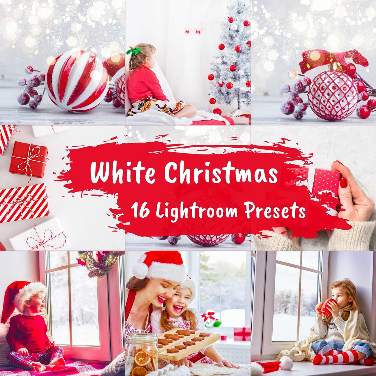 16 White Christmas Presets