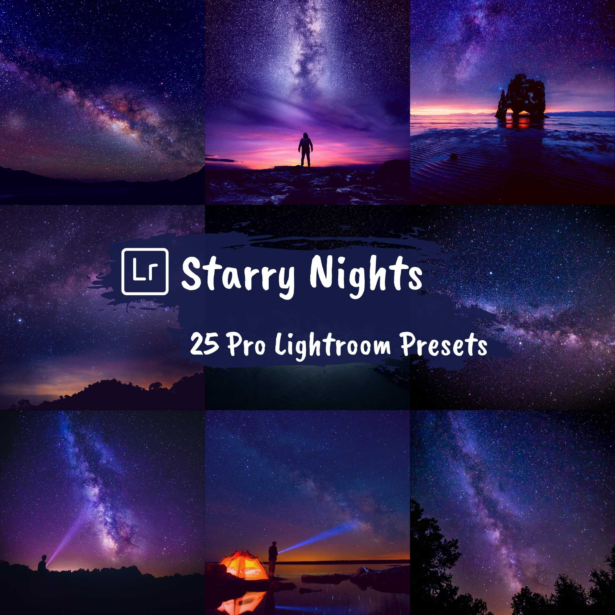 Astrophotography Lightroom Night Presets Mobile Desktop