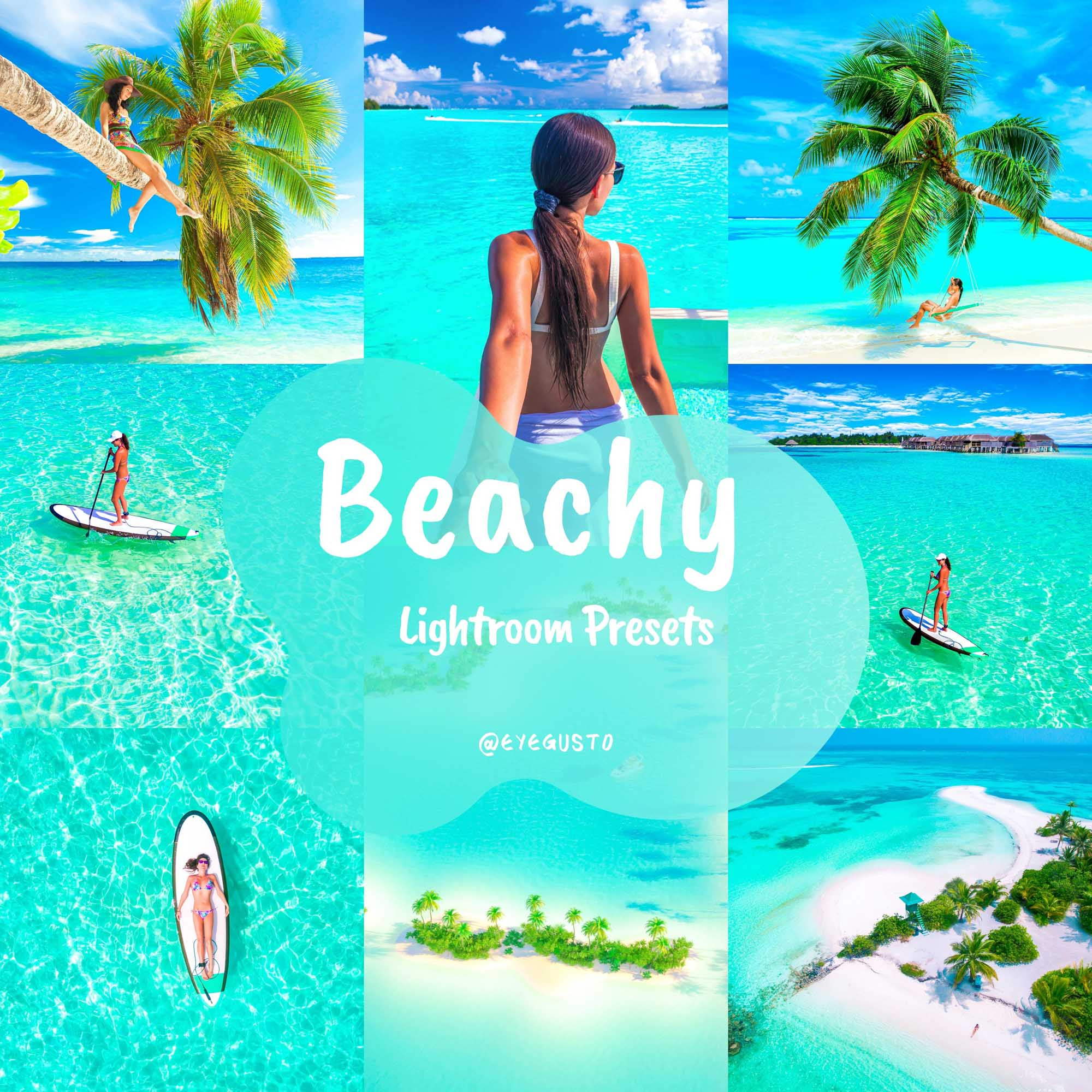 Beach Lightroom Presets Summer