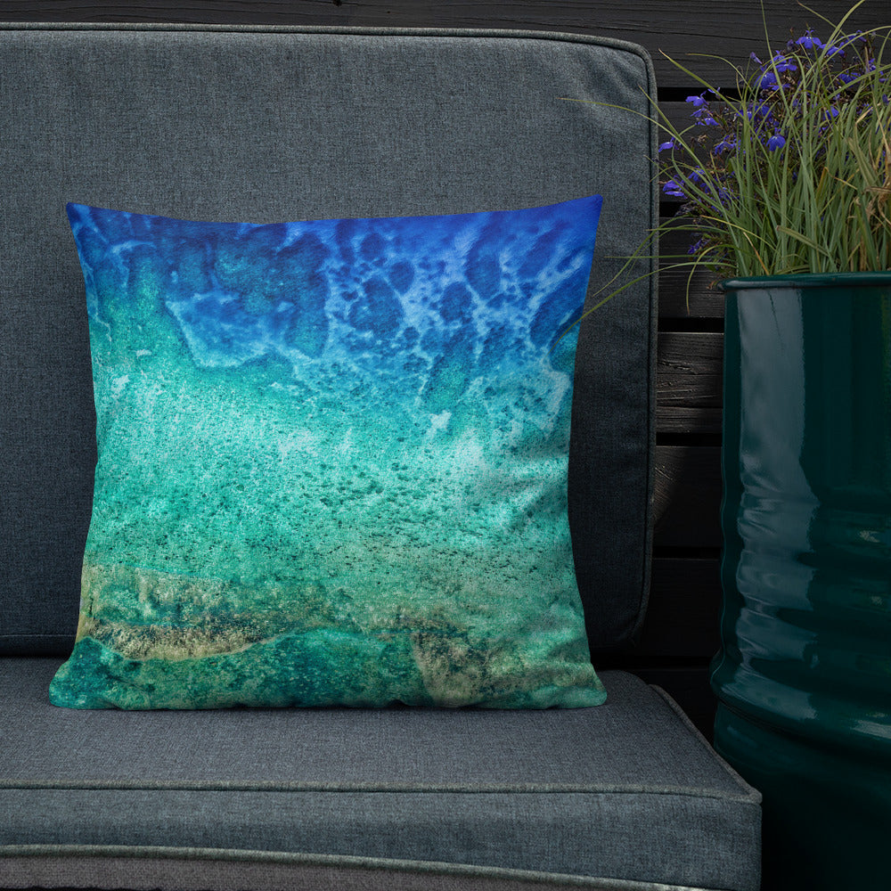 Decorative Throw Pillows - Nature Collection - The Gorgeous Coral Reefs