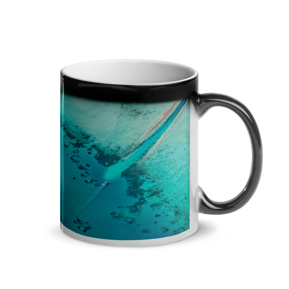 Surprise Black Mug - The Nature Collection - Above the Coral Reefs