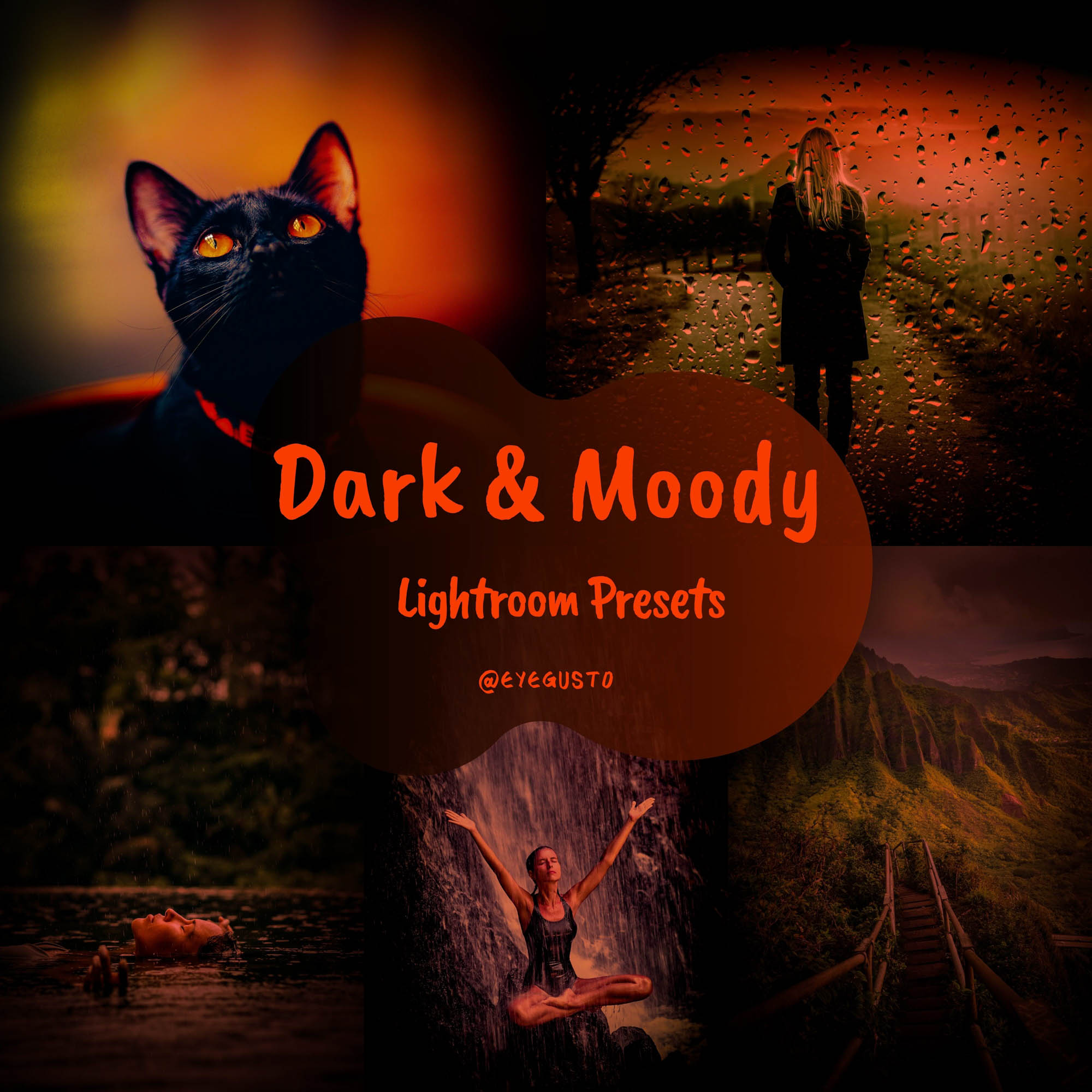 Dark and Moody Presets for Lightroom and Instagram