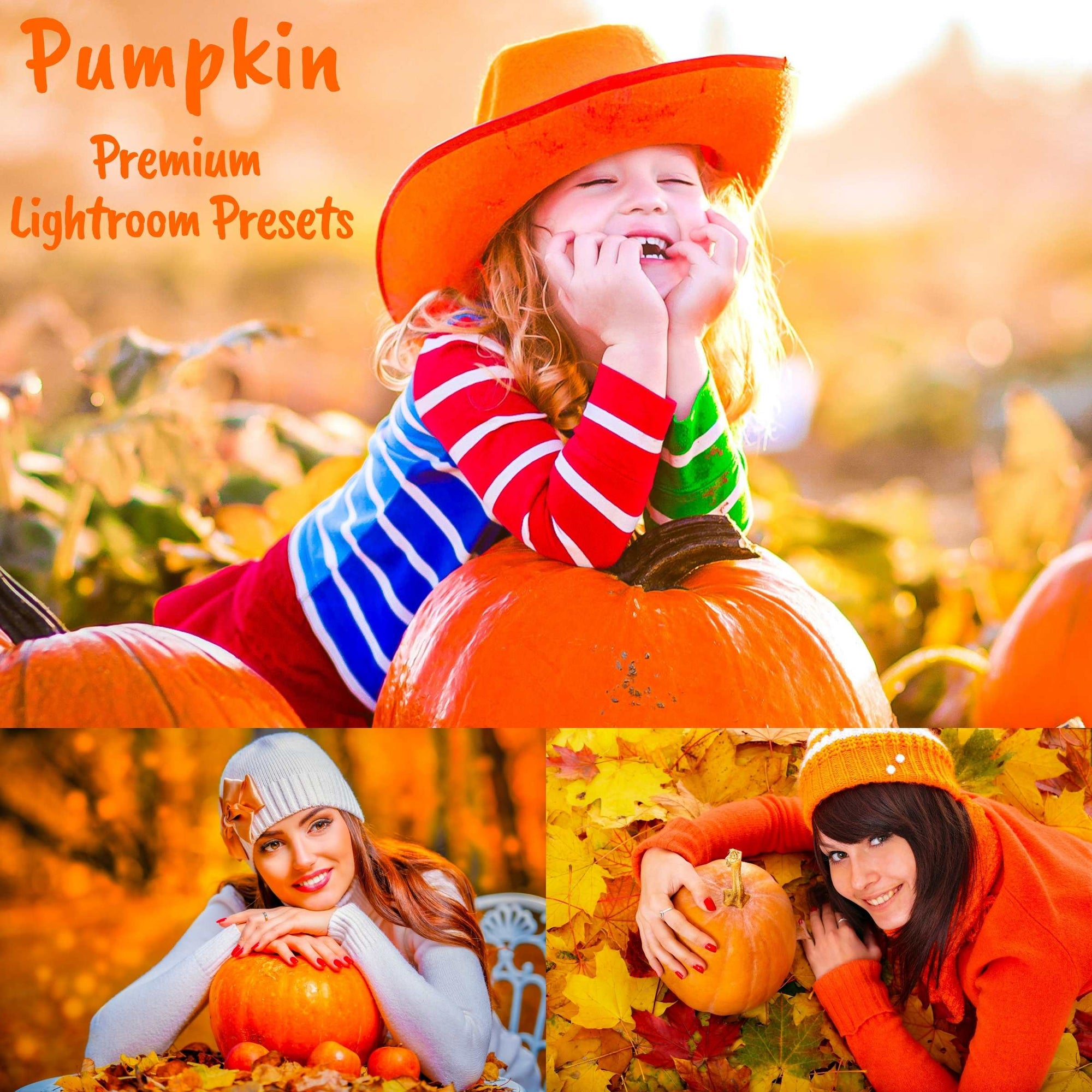 Halloween Fall Lightroom Presets