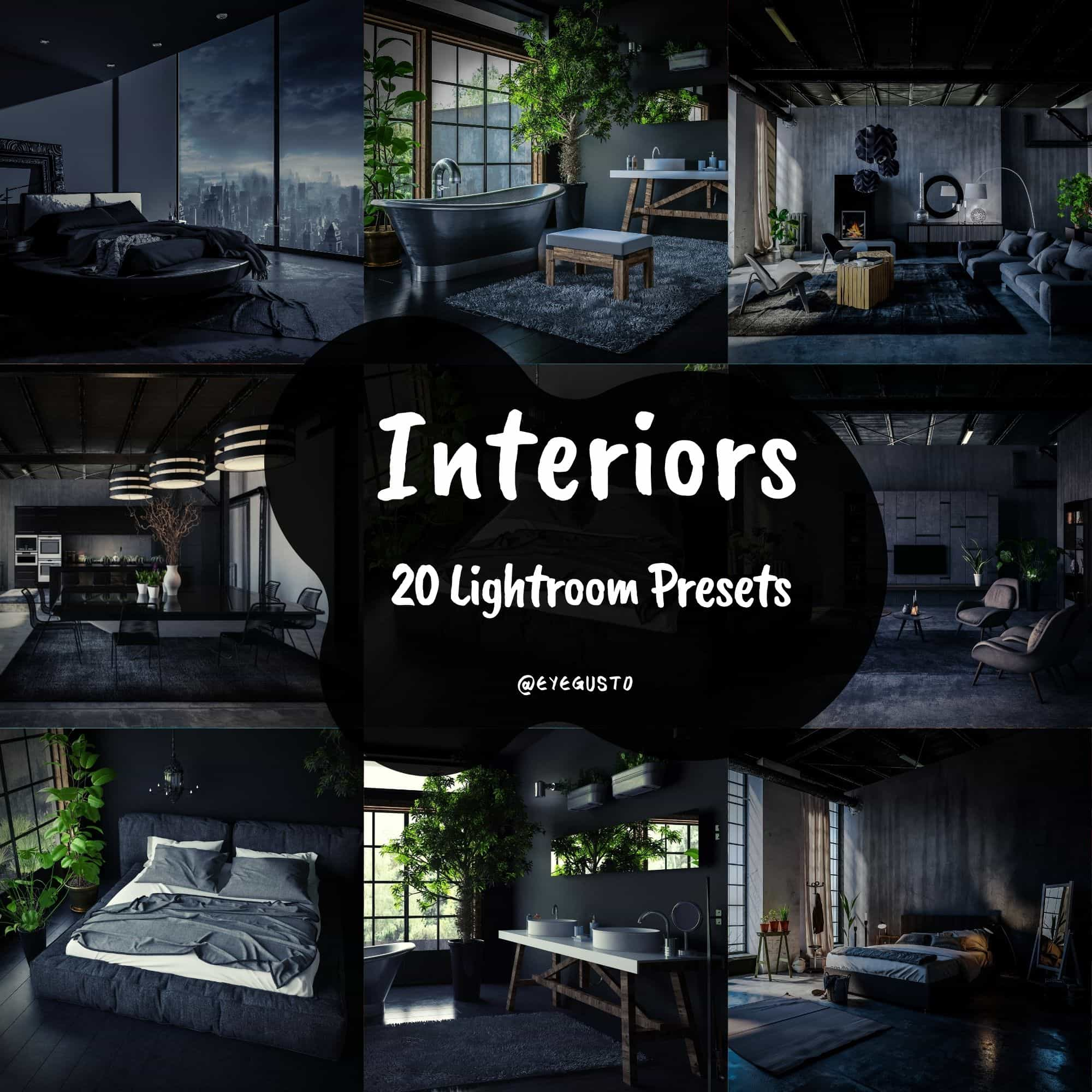 Home Interiors Lightroom Presets Real Estate