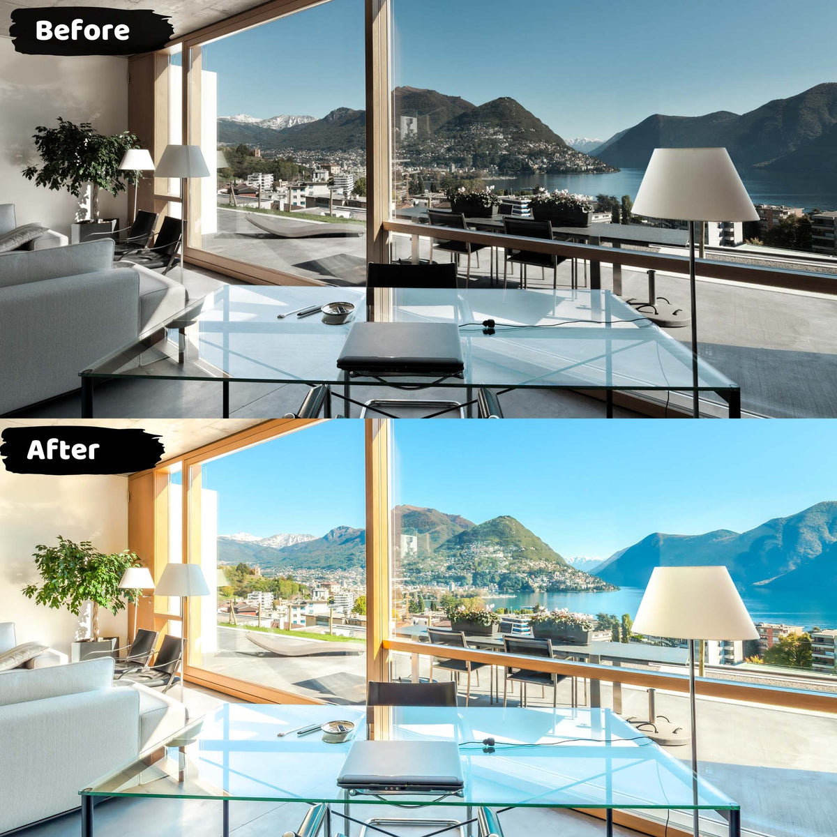Home Real Estate Mobile Lightroom Presets Before and After