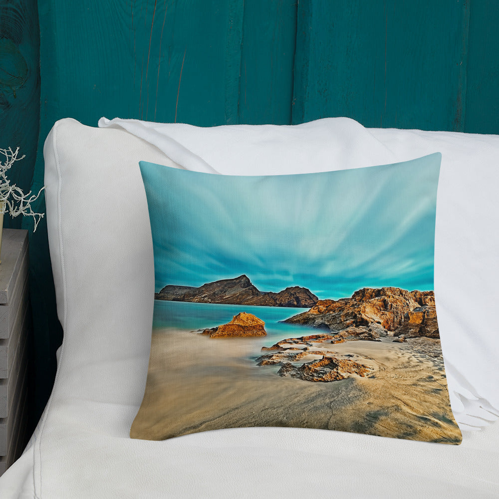 Decorative Throw Pillow - Summer Collection - The Ethereal Beach