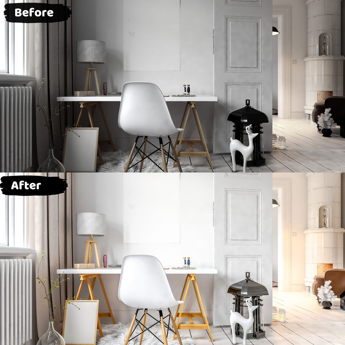 Interior Lightroom Presets Real Estate Photography