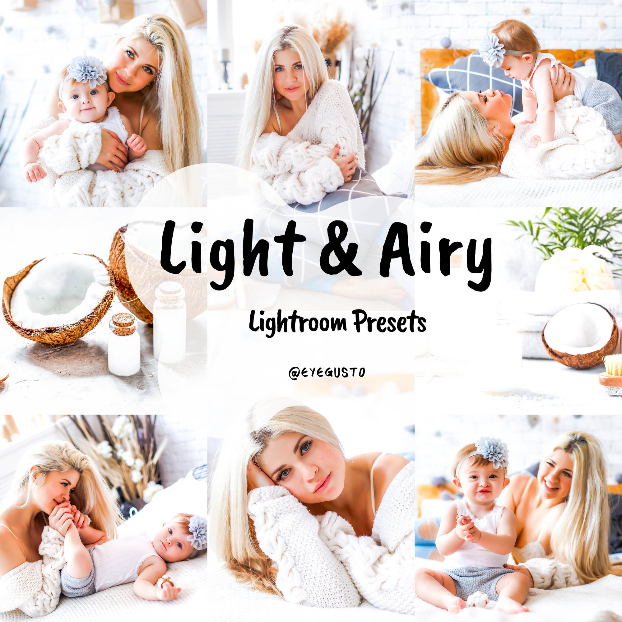 Light and Airy Presets Lightroom Mobile