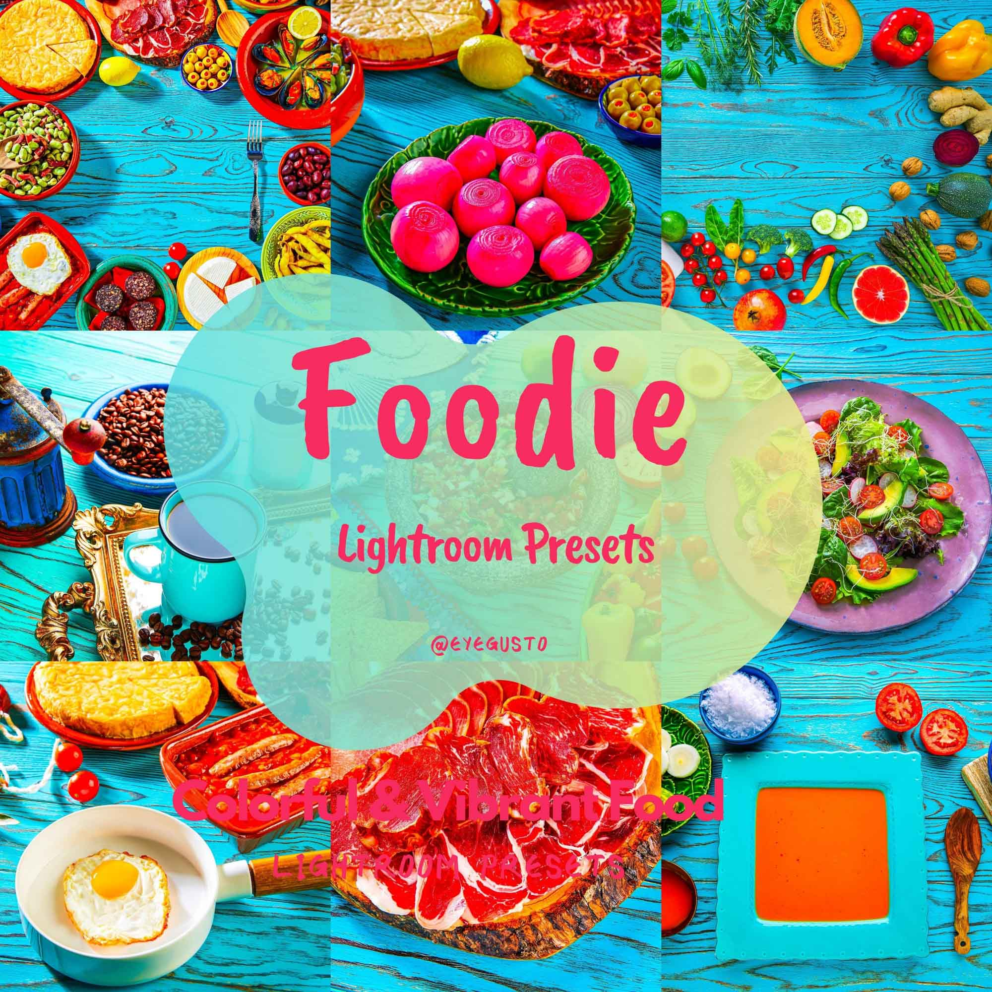 Lightroom Food Presets Mobile Instagram