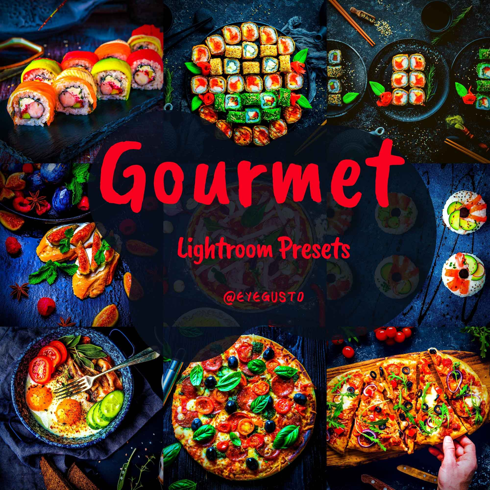 Lightroom Presets Mobile Food Photography