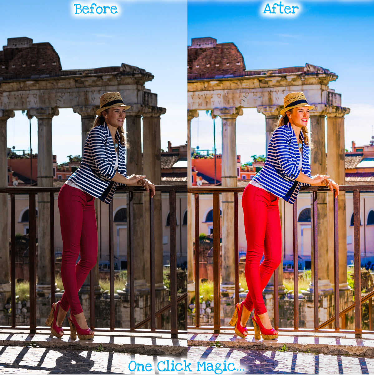 Lightroom Presets Instagram Filters Travel