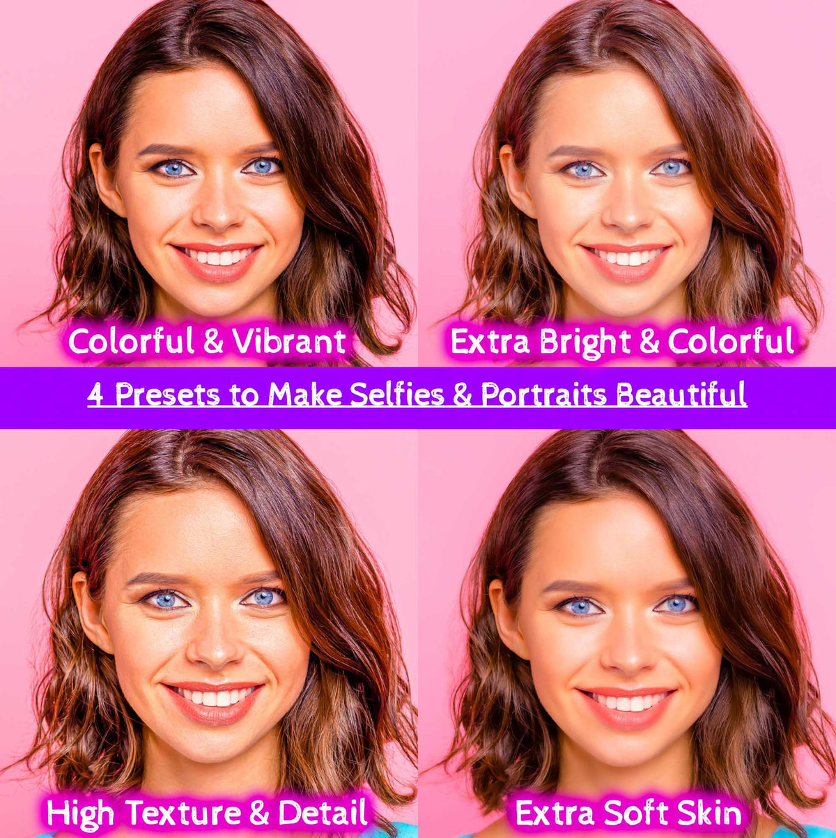 Lightroom Presets Portraits Pack