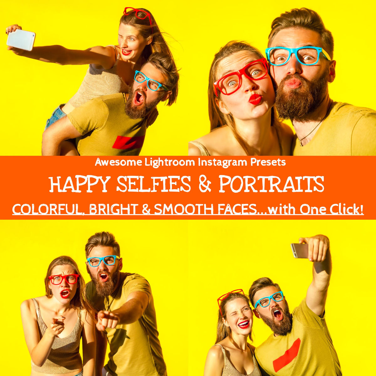 Lightroom Presets Portraits Selfies Mobile and Desktop