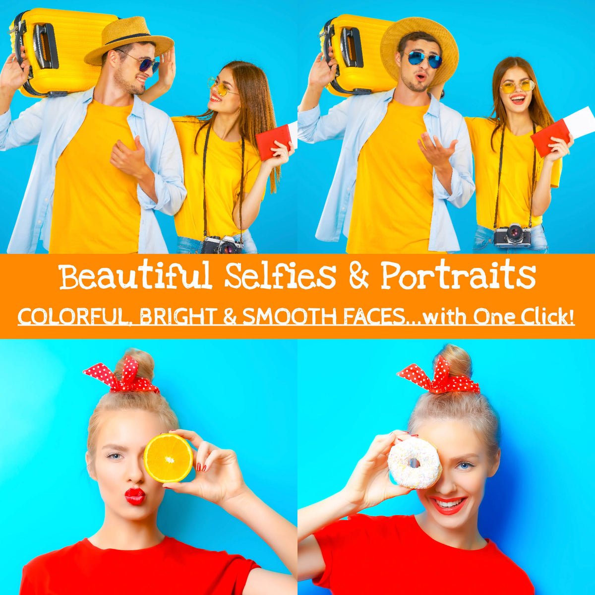 Lightroom Presets for Selfies and Portraits