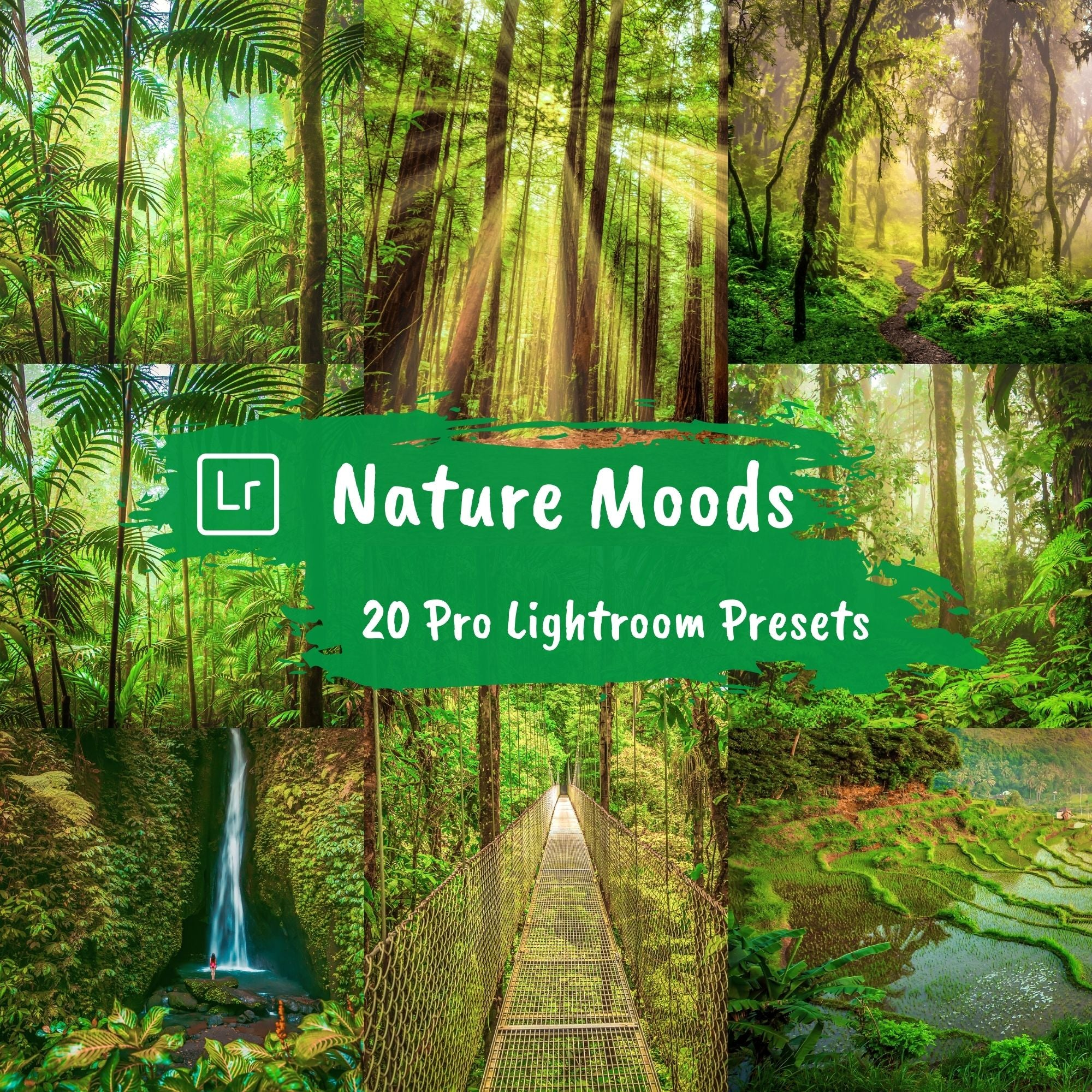 Nature Lightroom Presets Landscape Instagram Filters