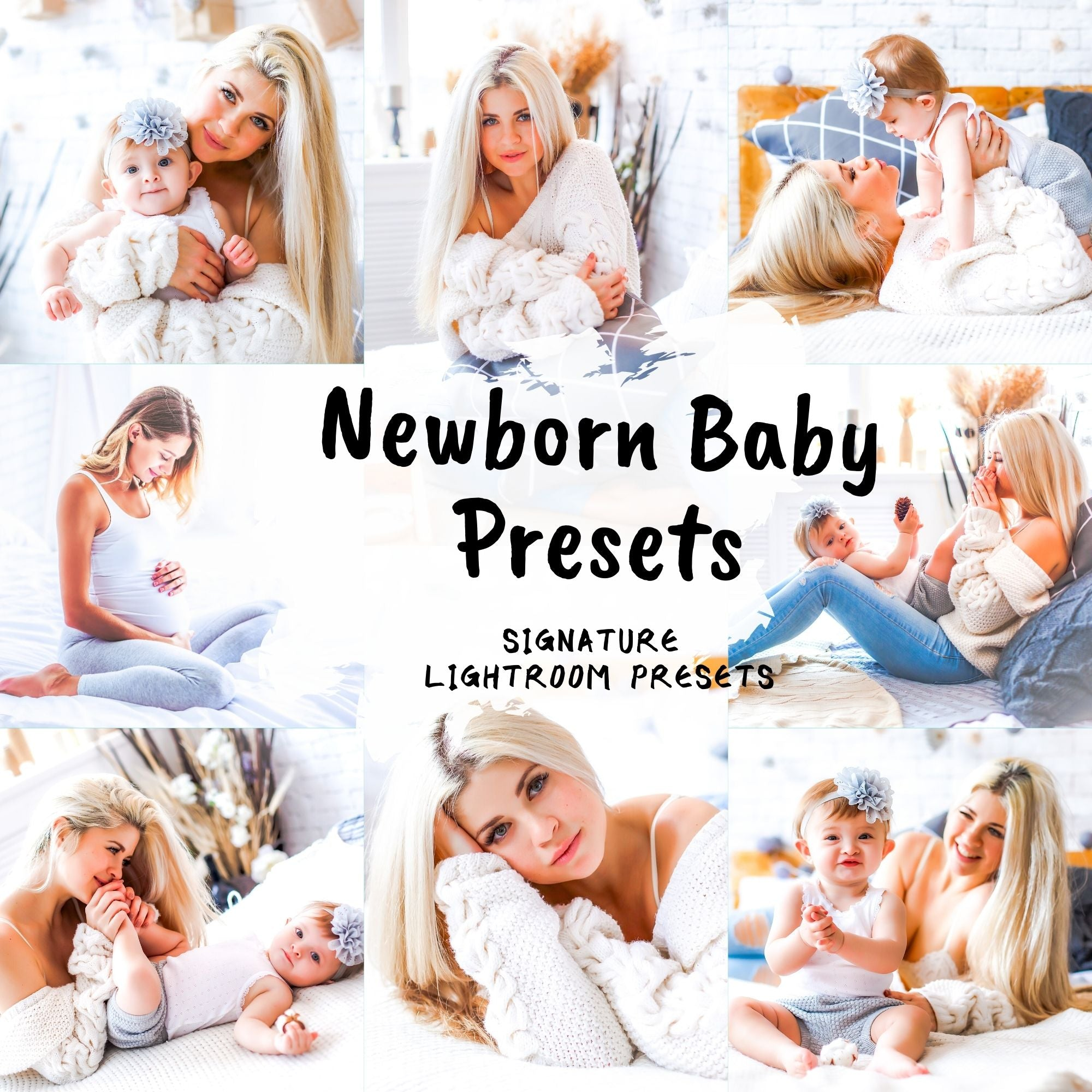 Newborn Lightroom Presets Babies