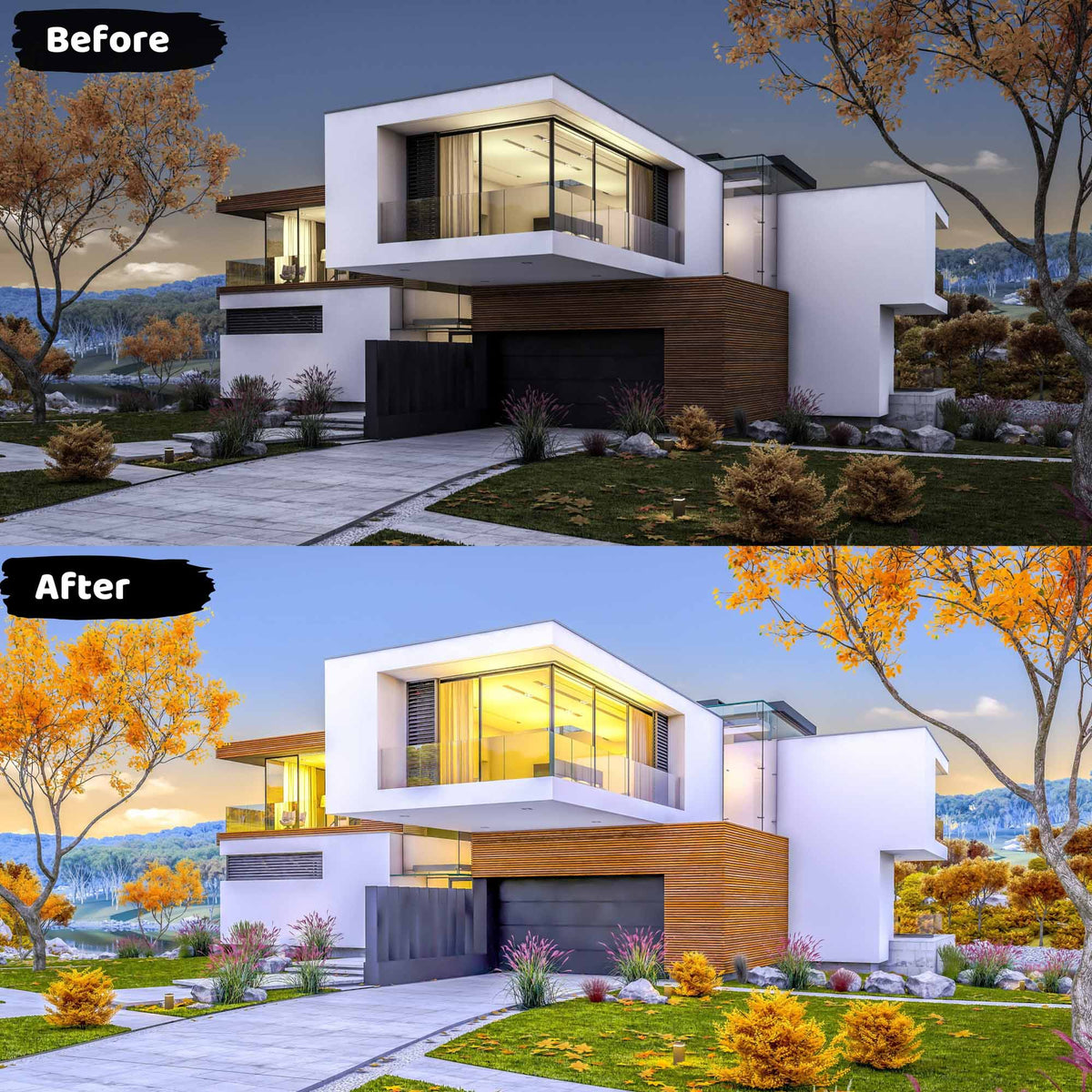 Real Estate Lightroom Presets HDR Photography
