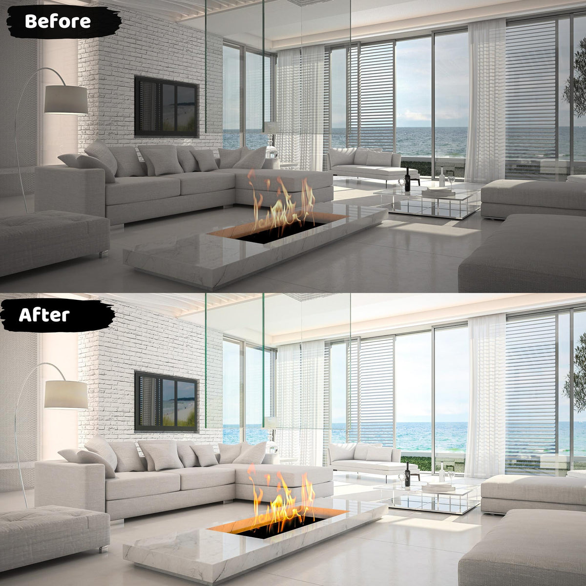 Real Estate Lightroom Presets Home Interiors